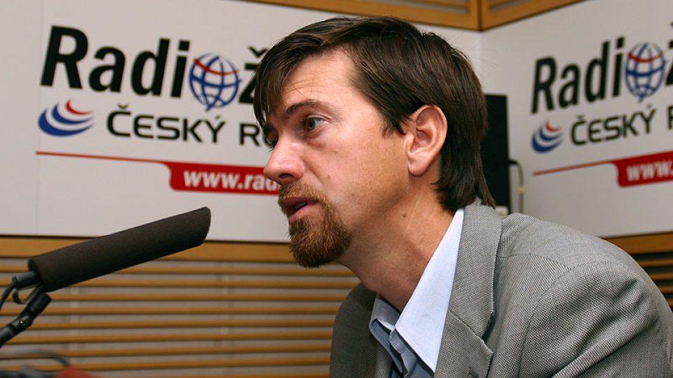 majitel vinařství Marek Špalek