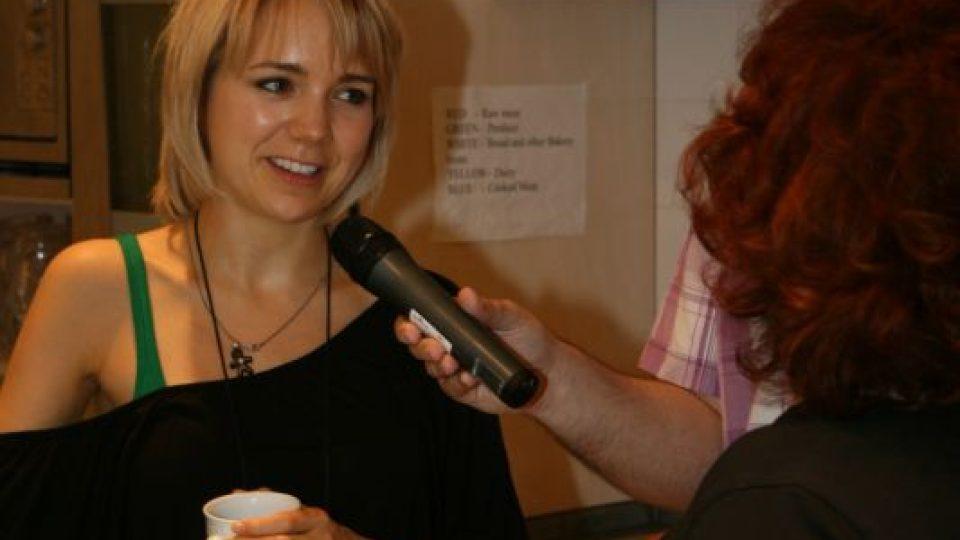 Lucie Vondráčková v Pochoutkách