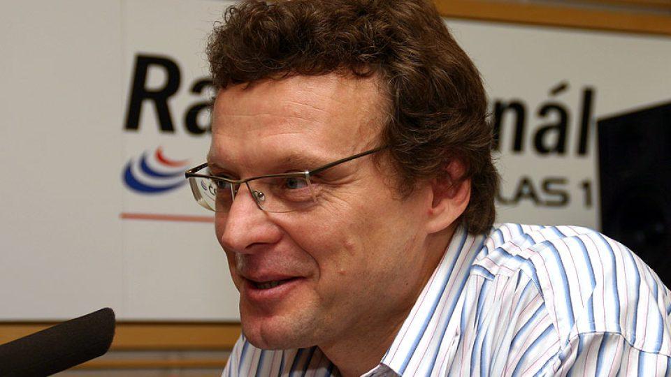 šéfredaktor Radiožurnálu a bývalý zpravodaj v USA Alexandr Pícha