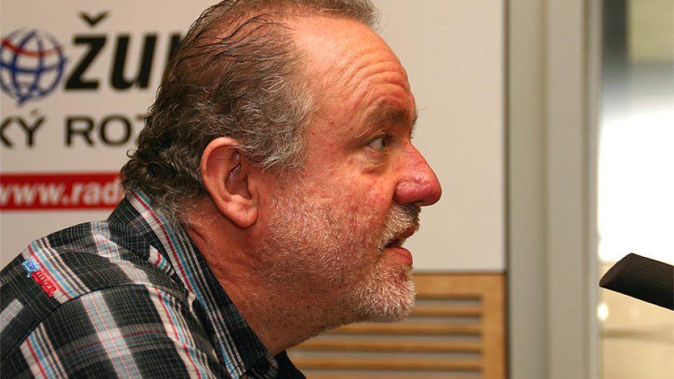 host Dopoledního Radiožurnálu Martin Klásek