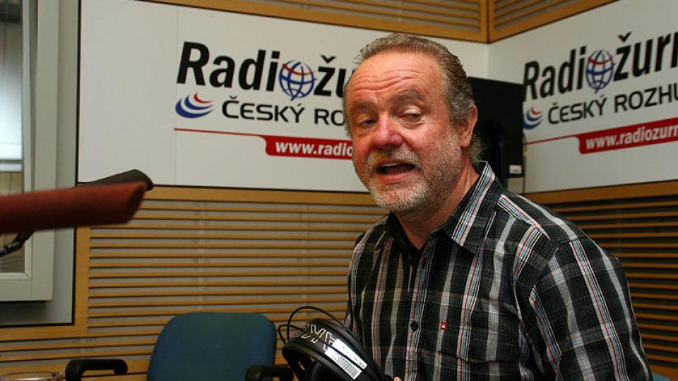 současný představitel Spejbla a Hurvínka Martin Klásek