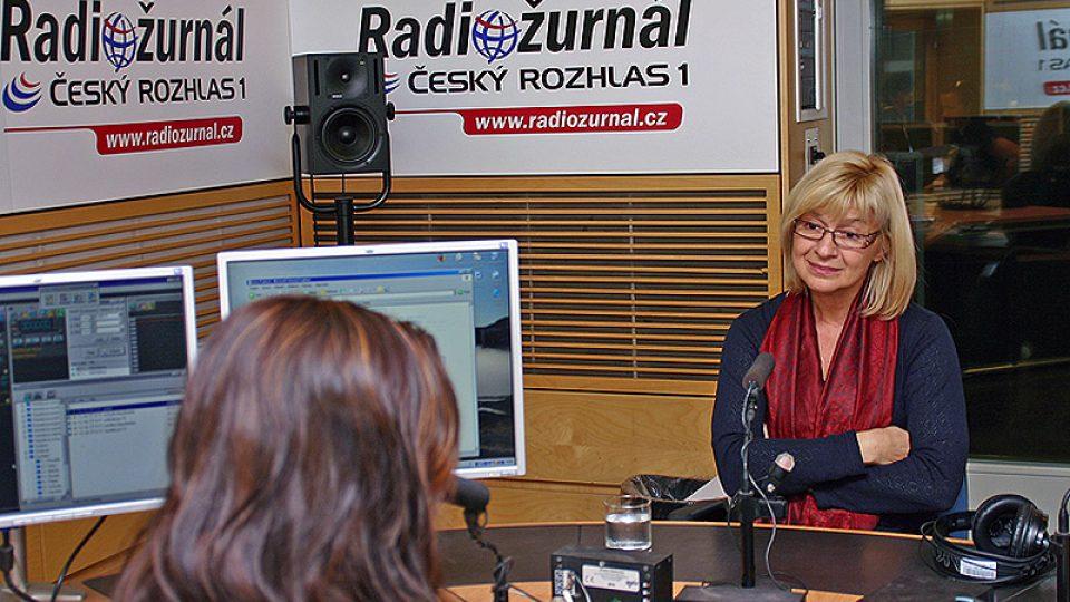 herečka a bývalá zpěvačka Jana Paulová