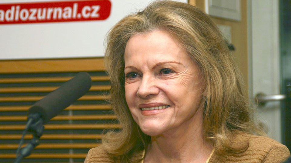 zpěvačka Eva Pilarová