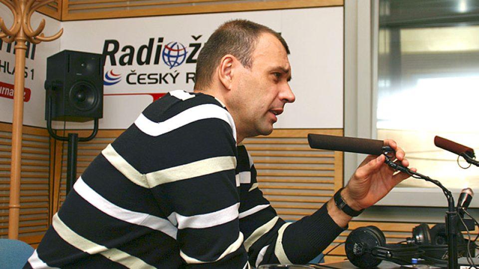 divadelní a televizní herec Petr Rychlý