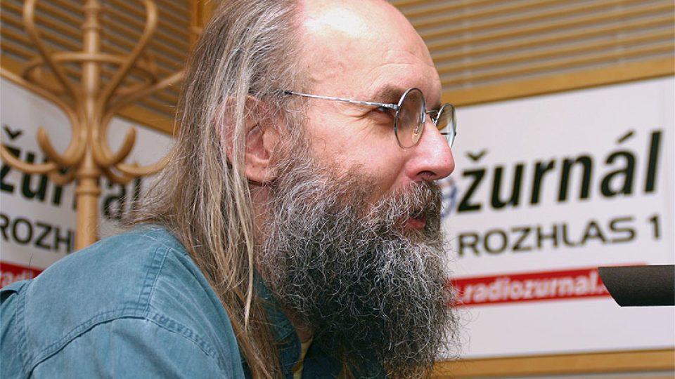 host Dopoledního Radiožurnálu Karel Oliva
