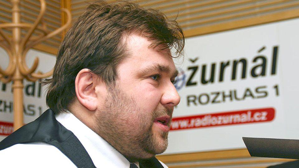 finalista soutěže Živnostník roku 2008 František Němec