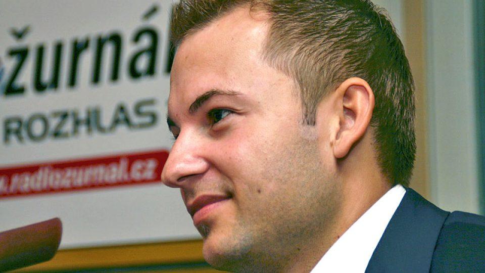 finalista soutěže Firma roku 2008 Martin Slanina
