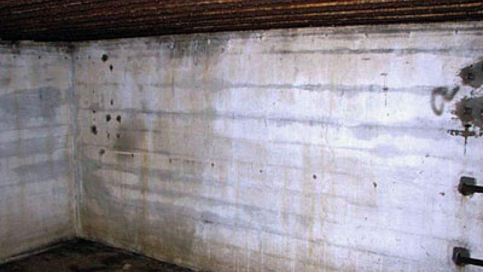 Uvnitř bunkru
