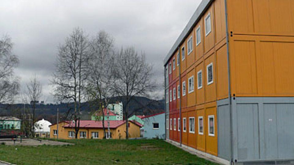 Kontejnerový dům v Poschlé