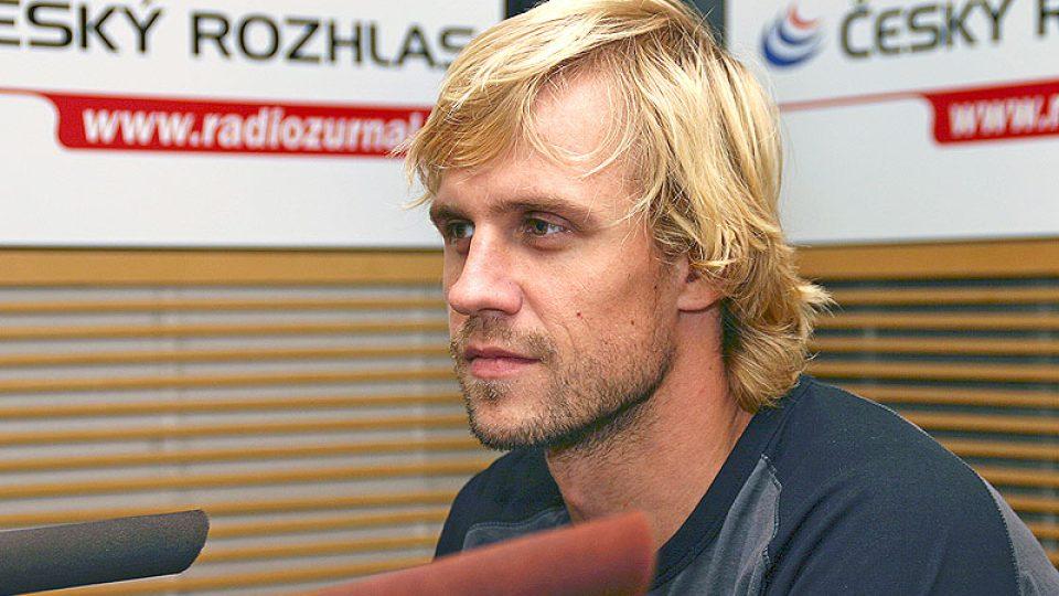 host Dopoledního Radiožurnálu Martin Štěpánek