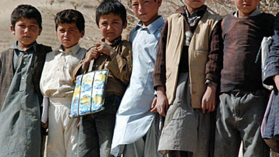 Afghánští chlapci