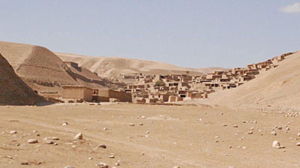 Afghánská vesnice Pista Bala