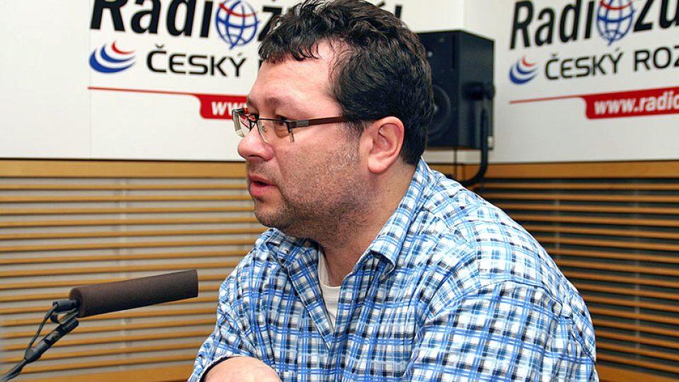 investigativní novinář Jaroslav Kmenta
