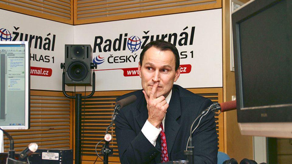 americký novinář žijící vPraze Erik Best