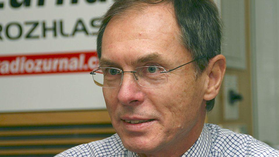 bývalý prezidentský kandidát Jan Švejnar