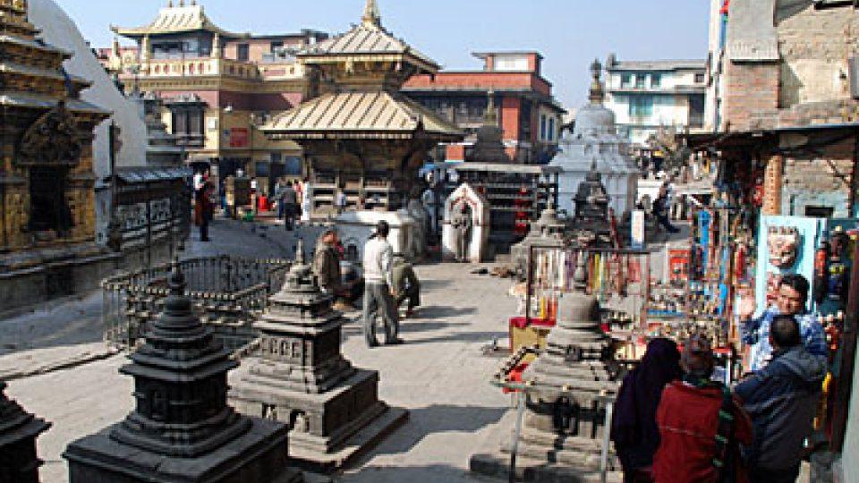 Nepálské město Patan