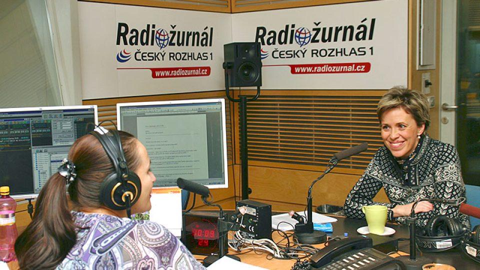 Lucie Výborná a Alena Zárybnická