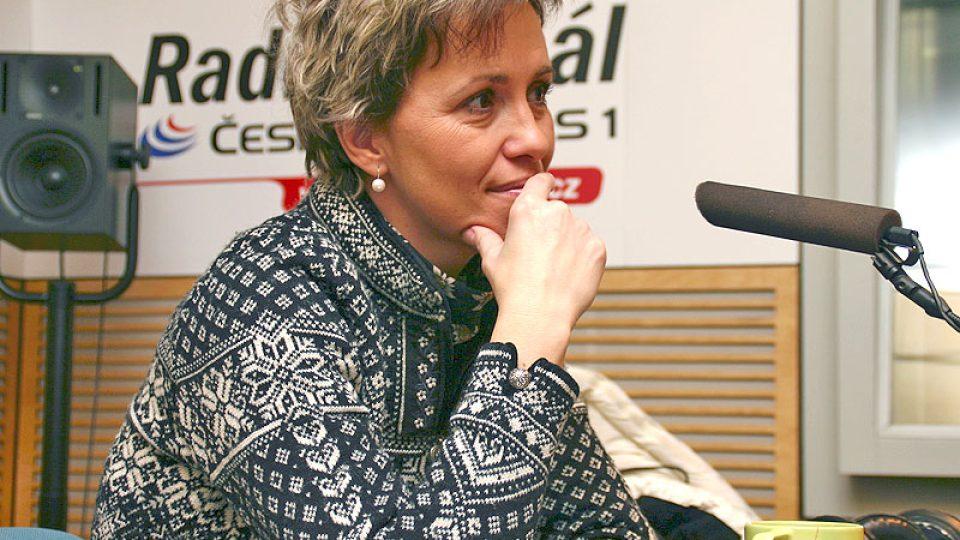 meteoroložka Alena Zárybnická