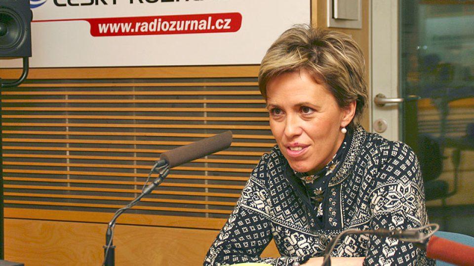 televizní rosnička Alena Zárybnická