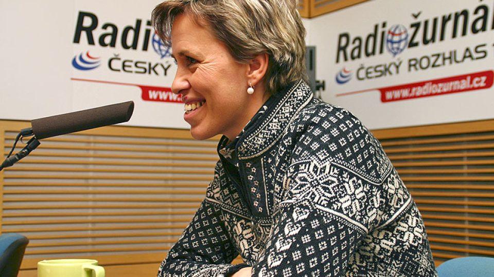 moderátorka předpovědi počasí Alena Zárybnická
