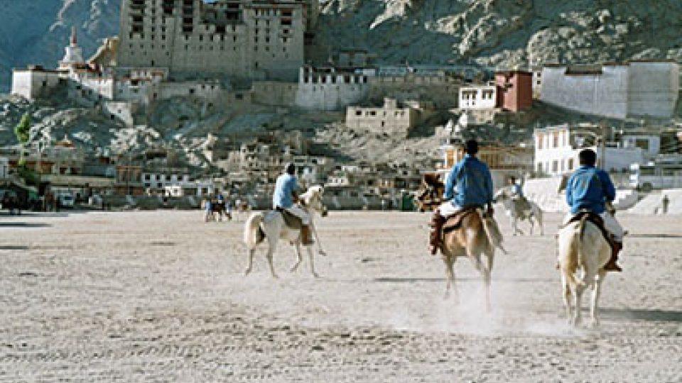 Koňské pólo v Ladakhu