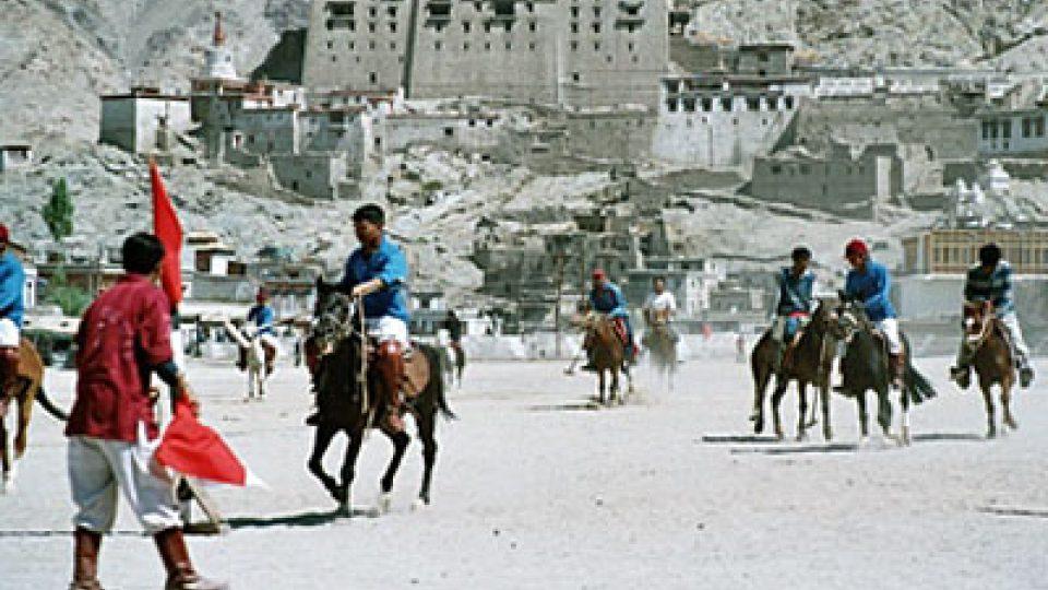 Utkání v koňském pólu