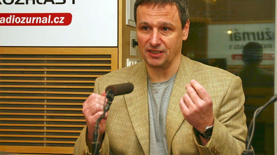 novinář Martin Komárek
