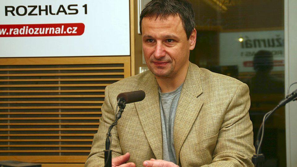 komentátor Mladé fronty DNES Martin Komárek
