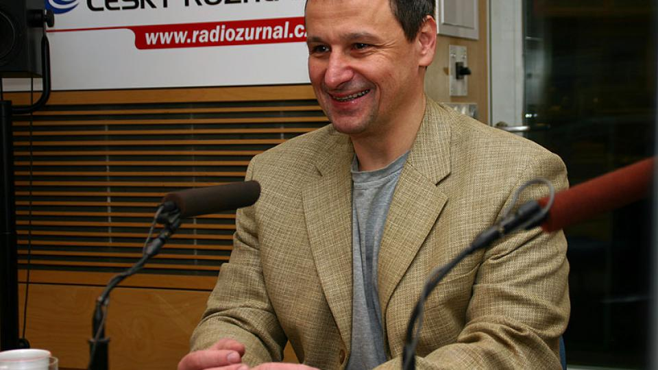 komentátor Martin Komárek