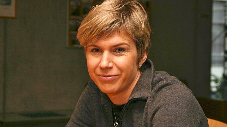 olympijská vítězka Kateřina Neumannová