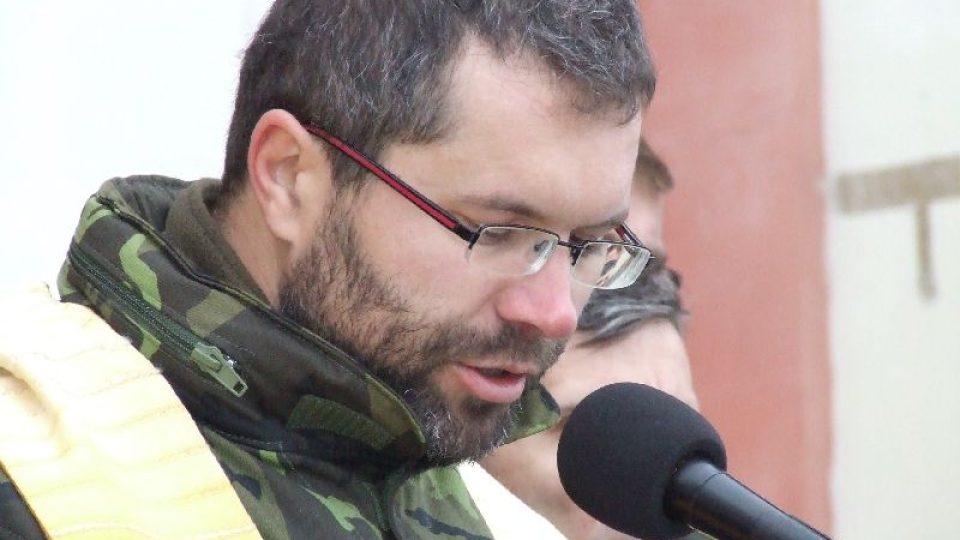 Polní kaplan Kamil Vícha