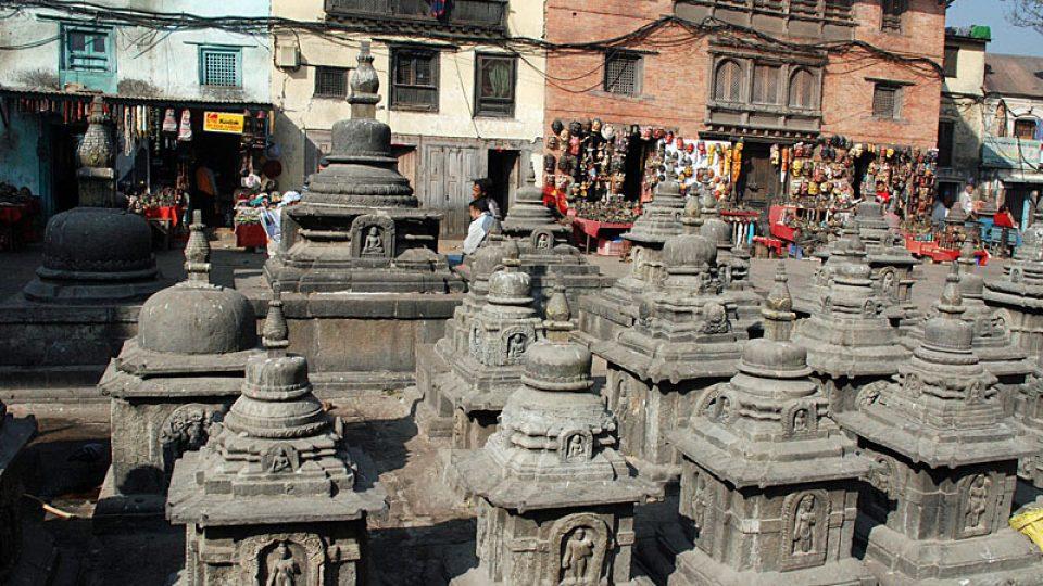 Stúpy v Káthmándu