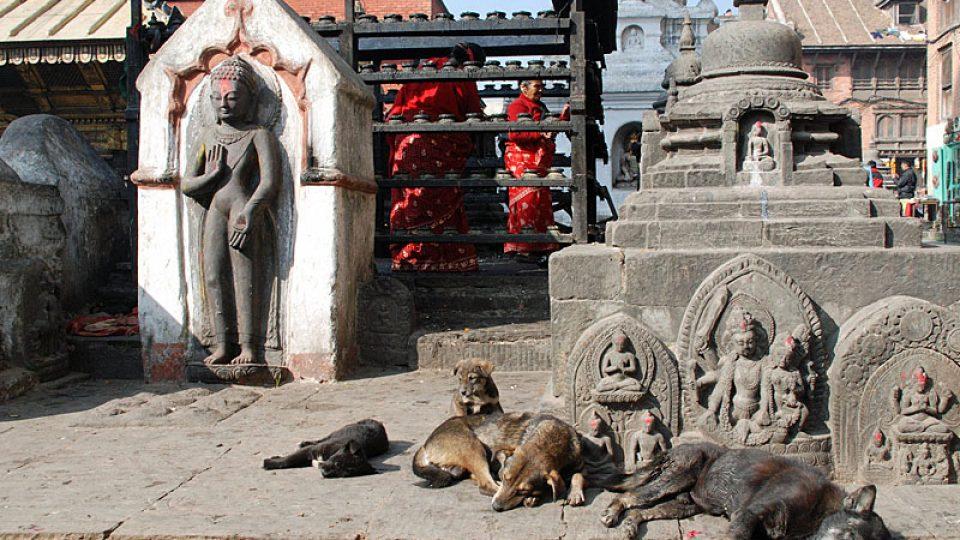 Svatyně v Káthmándu