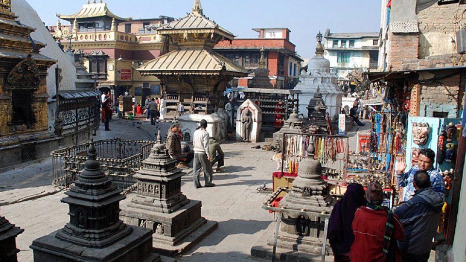 V ulicích Káthmándu