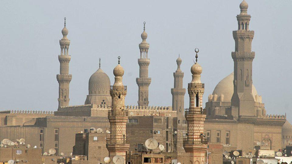Islámskou Káhiru už pohltila nová doba