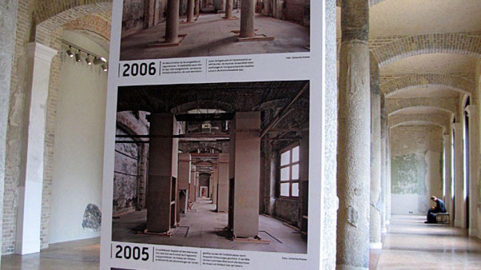 Zachycená rekonstrukce Nového muzea