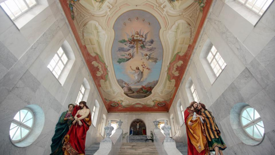 Interiér Kaple Svatých schodů
