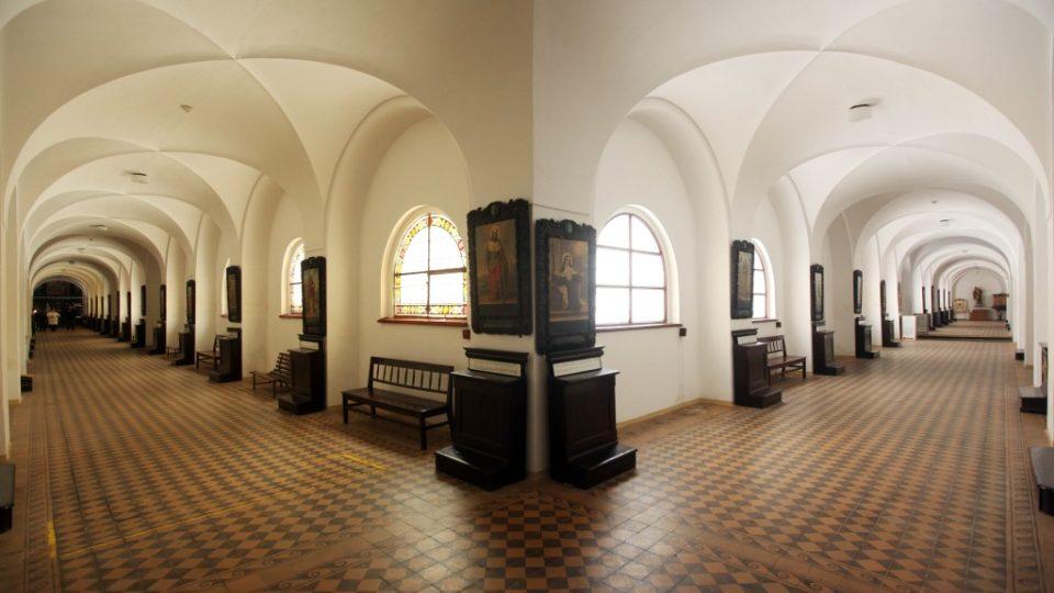 Ambity kláštera redemptoristů na Hoře Matky Boží