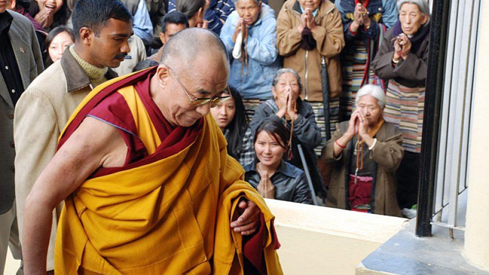 Dalajláma v Dharamsale