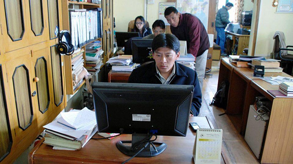 Redakce rádia Hlas Tibetu