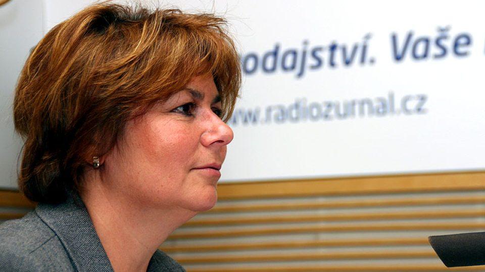 Ředitelka kanceláře WHO vČR Alena Šteflová