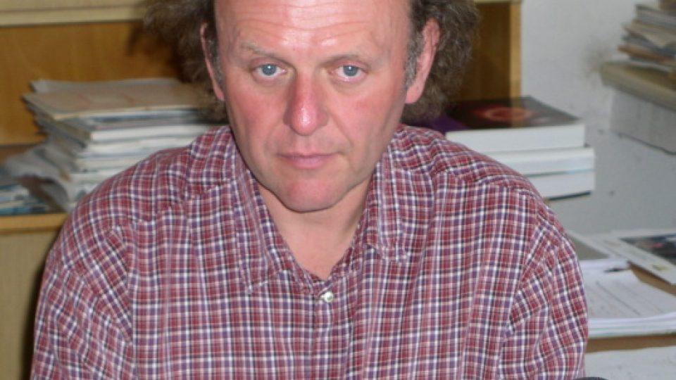 Moderátor Jaroslav Dušek