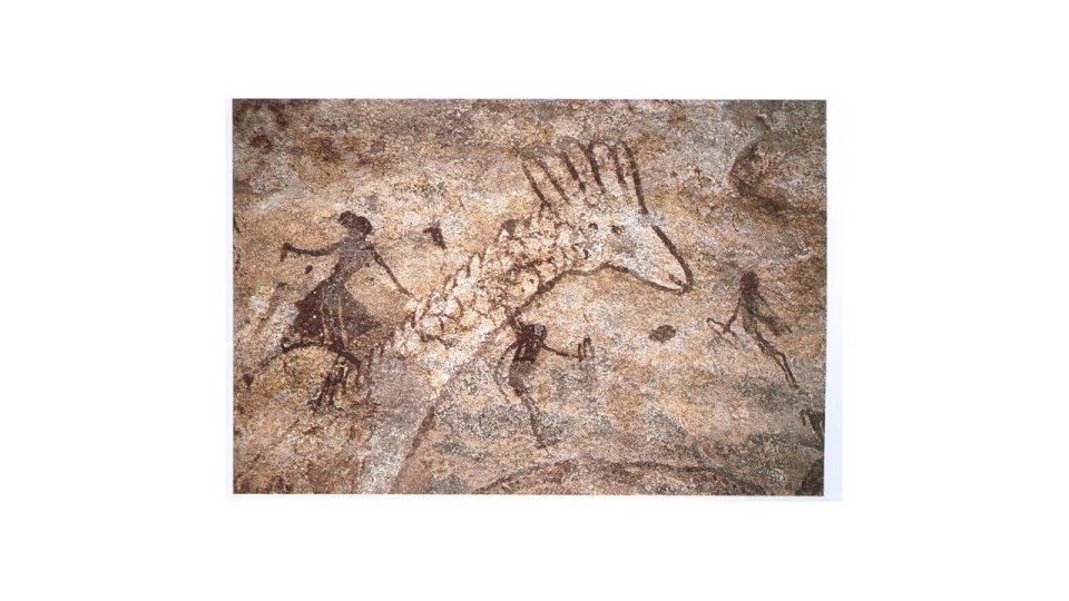 Skalní malby ze severní Sahary