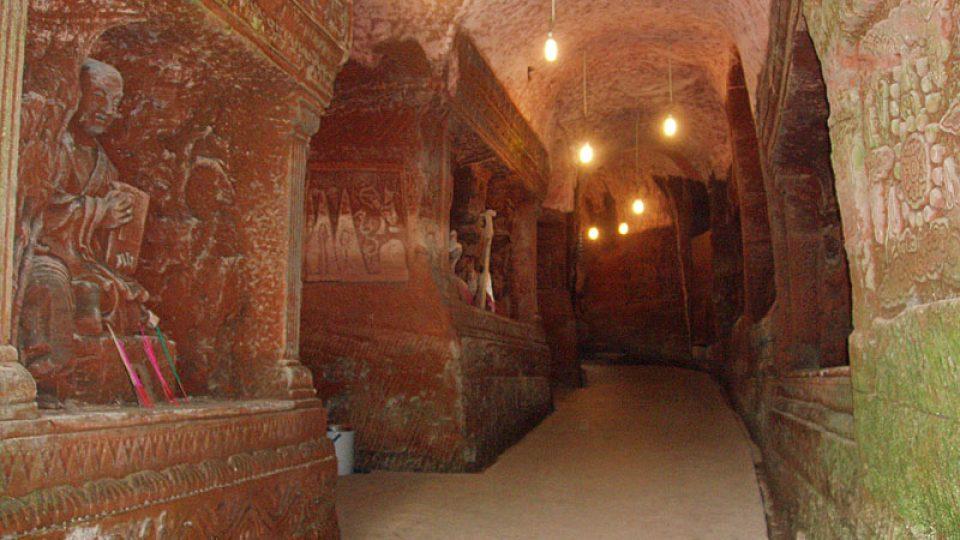 Podzemní systém pod horou Ling-jün