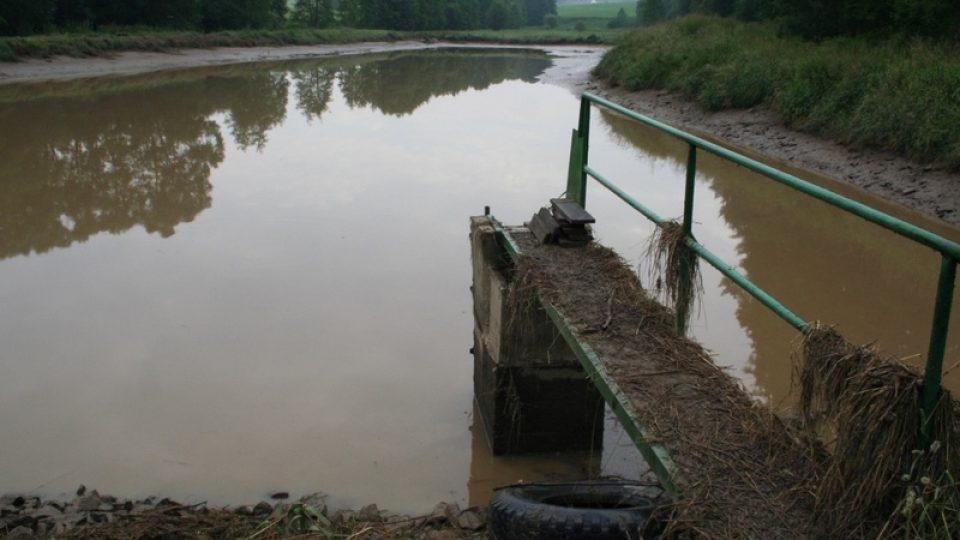 Upuštěný rybník v Bohunicích