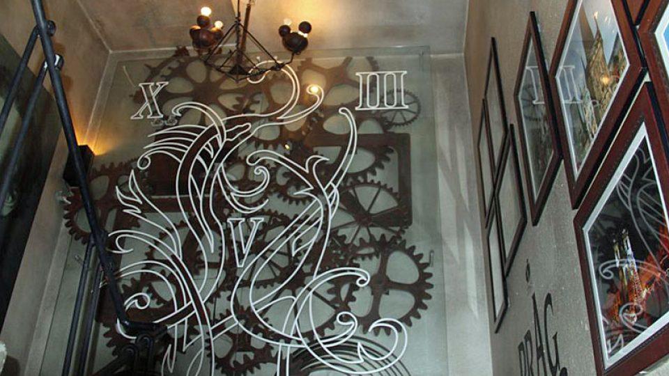 Hodinový stroj pražského orloje