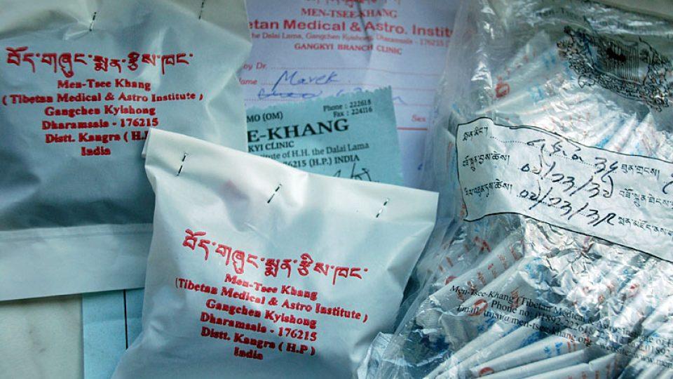 Léky tibetské medicíny