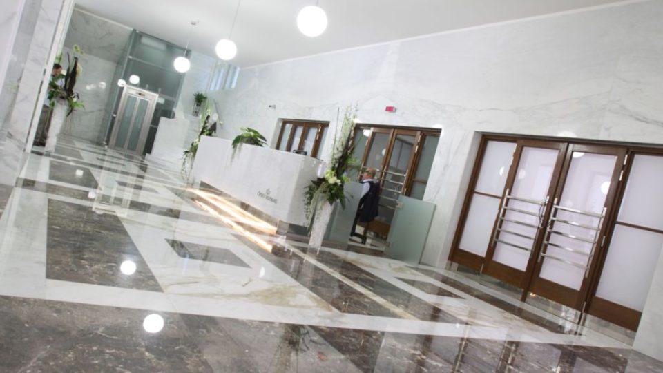 Fotogalerie zcela nově opravené budovy Českého rozhlasu (Vinohradská 12, Praha 2)