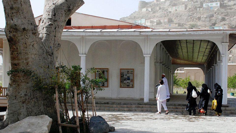 Poslední z devíti Baburských zahrad