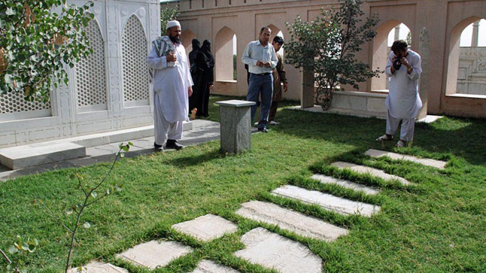 Baburské zahrady v Kábulu